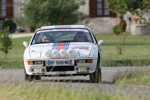 6eme rallye Bordeaux Sud Ouest - Porsche 924