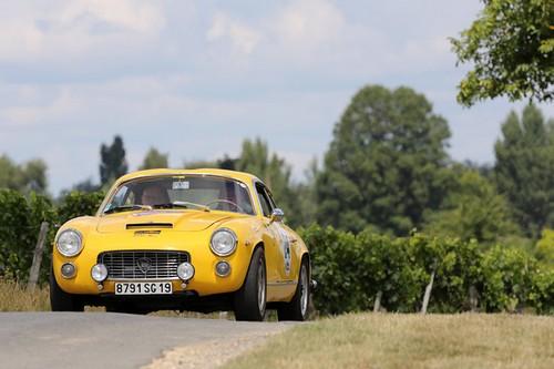 6eme rallye Bordeaux Classic Sud Ouest - Lancia Zagato