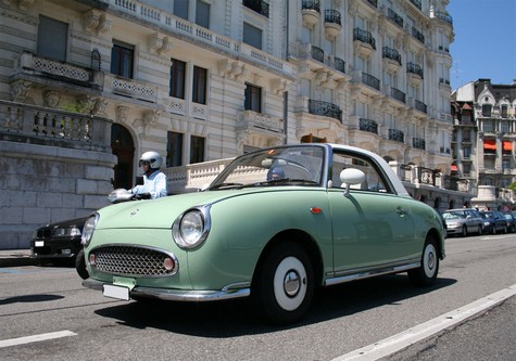 nissan figaro un amour de geisha. Black Bedroom Furniture Sets. Home Design Ideas