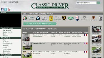 Site Annonces voitures de collection