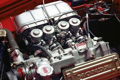 Le moteur de la Honda S800