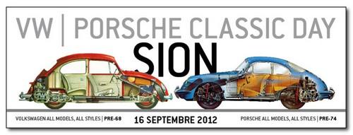 VW Porsche Classic Day à Sion