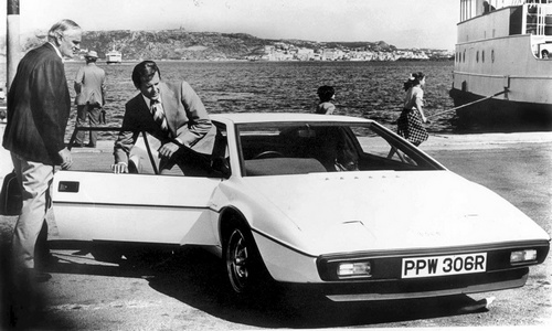 James Bond et la Lotus Esprit S1