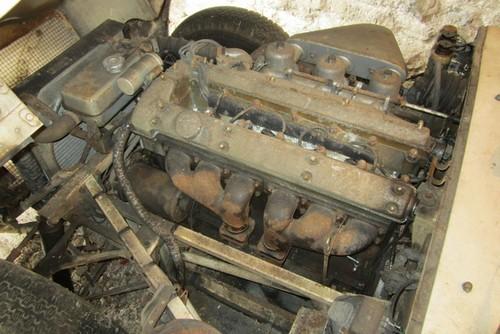 Jaguar type E 1961 barn find