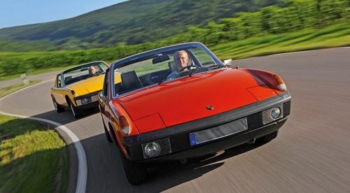 Porsche 914-6 et Porsche 914