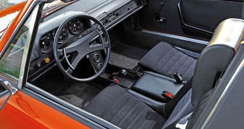 Intérieur Porsche 914