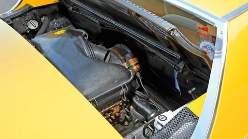 Le moteur central de la Porsche 914