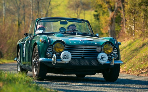 3352295f3f Triumph TR4 - Auto Collection