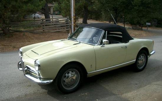 Alfa Romeo Giulia Spider 1962
