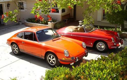 Porsche 911 et Cabrio 356