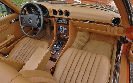 Intérieur Mercedes 350SL