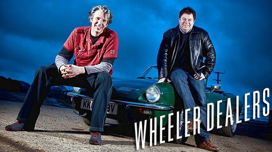 Wheeler Dealers - Edd China et Mike Brewer