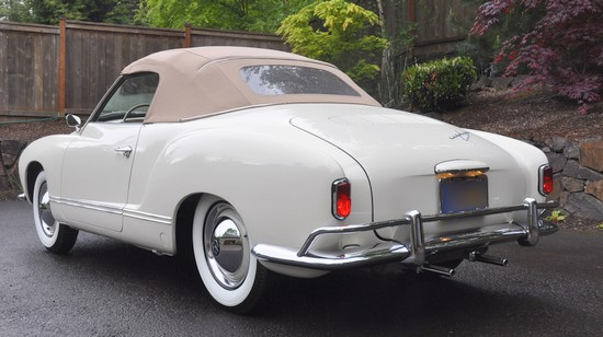 Cabriolet Karmann Ghia 1959