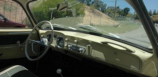 Tableau de bord Karmann Ghia