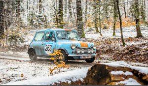 Mini Cooper en rallye