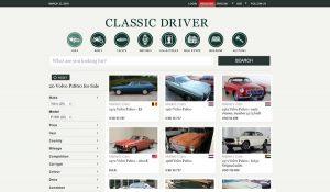 Le site d'annonces européennes ClassicDriver
