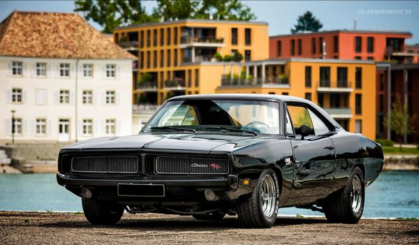 Mucle Car Dodge Charger 1969 7.0 425cv