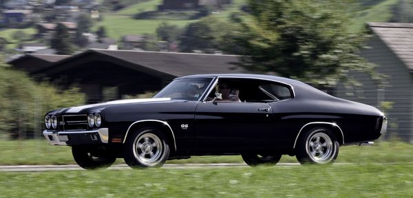 Muscle  Car Chevrolet Chevelle SS 1970 454ci 450cv