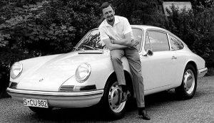 Butzi Porsche qui a dessiné la 911