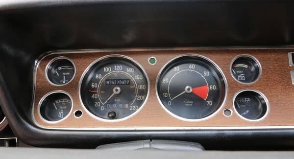Tableau de bord Ford Capri GT