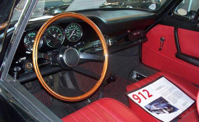 Tableau de bord Porsche 912