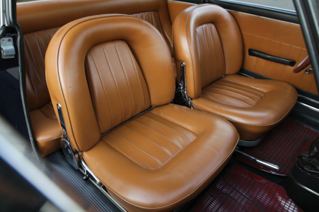 Interieur cossu Lancia Fulvia