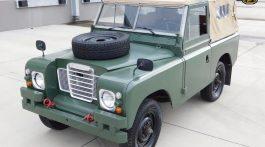 Land rover vintage
