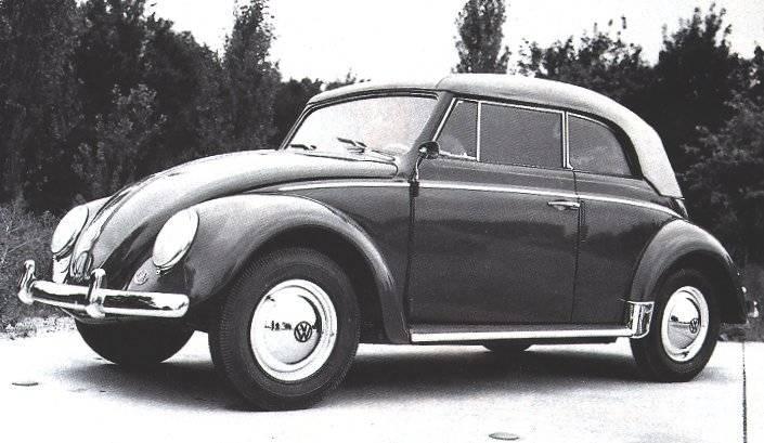 Pare brise plat VW Coccinelle