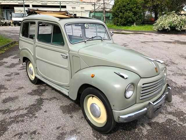 1952 Fiat 500 C Belvedere