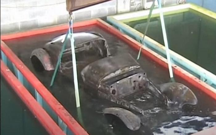 Bain décapant pour lutter contre la rouille