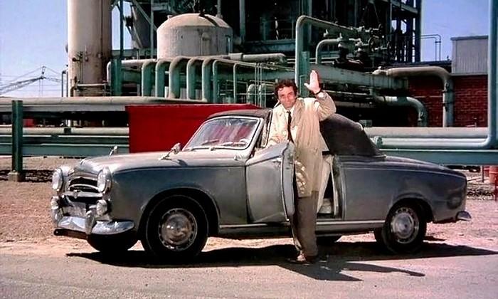 Columbo et sa 403 cabriolet